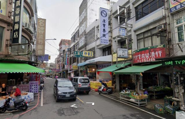 楊梅車站三角窗雙店面,桃園市楊梅區大模街