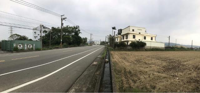 湖口市區旁正路邊農地,新竹縣湖口鄉中平路