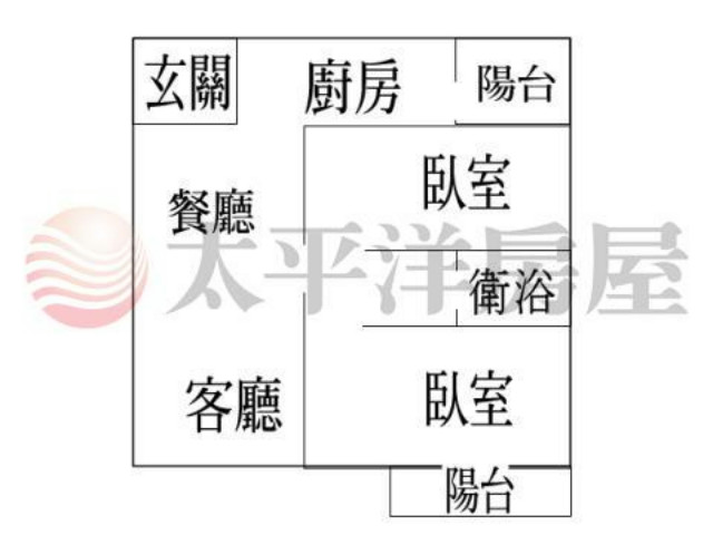 鼎藏大硯全新2房+車位,桃園市楊梅區青山一街